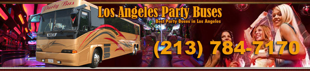 Los Angeles Party Buses Service